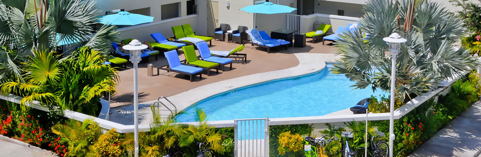 key west hotel with salt water pool
