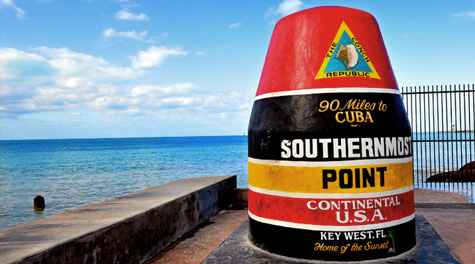 Southern most point USA